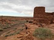 Outside Wukoki Pueblo, Flagstaff, Arizona