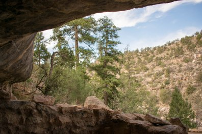 Walnut Canyon Dwelling Room View