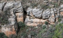 Walnut Canyon Rock