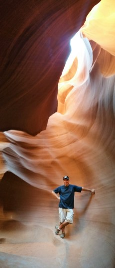 Lower Antelope Canyon. Page, Arizona