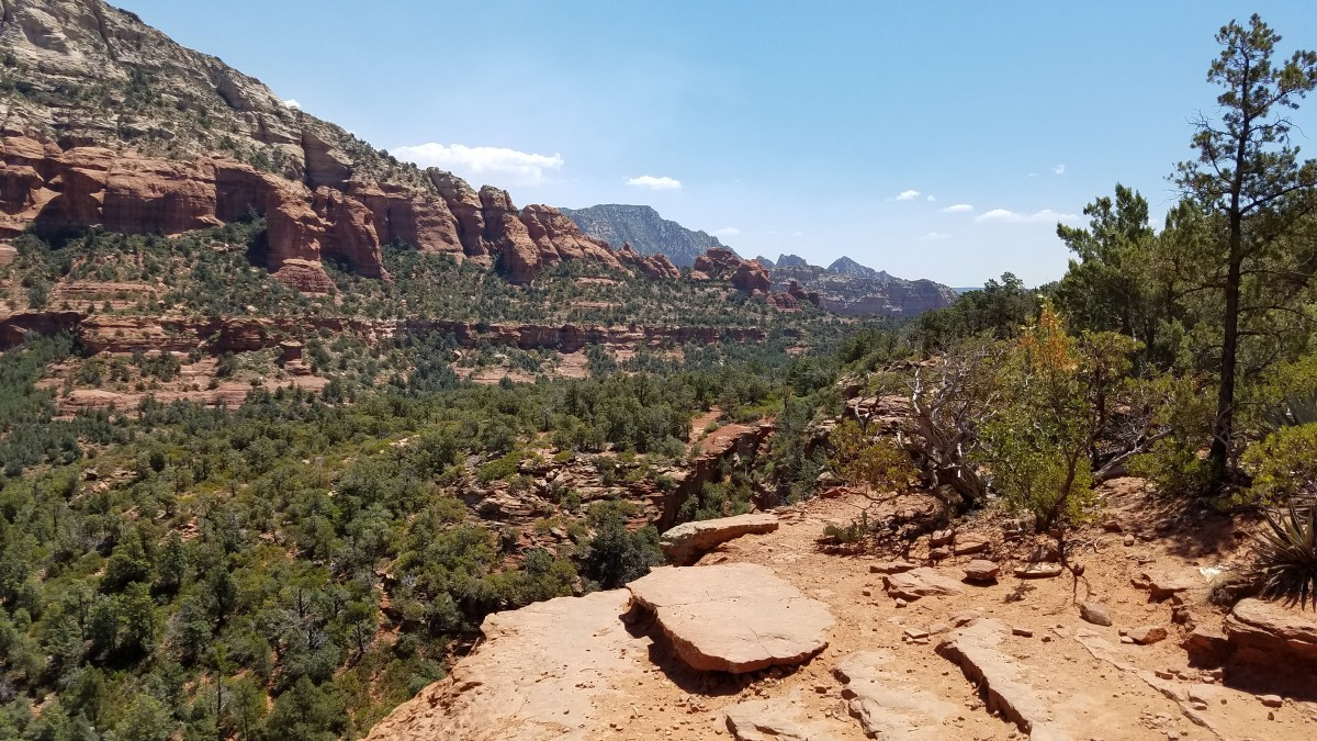 Hiking Sedona Arizona Devil's Bridge Rusty Ward