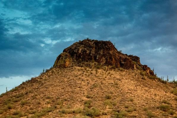 Desert Sunset Lake Pleasant Arizona