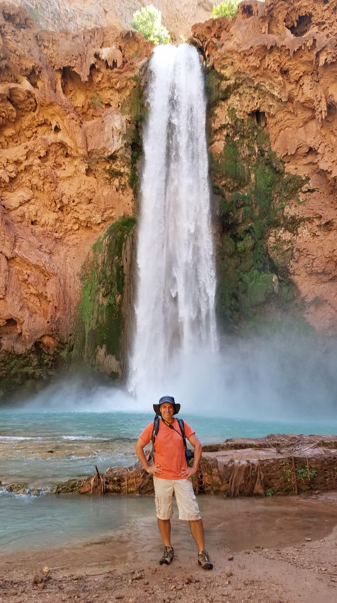 Mooney Falls Hiking Arizona Rusty Ward