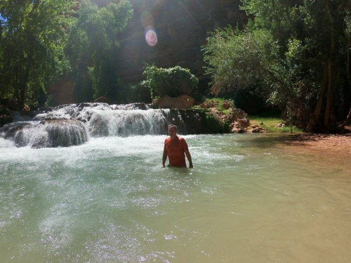 Hike to Beaver Falls Havasupai Arizona