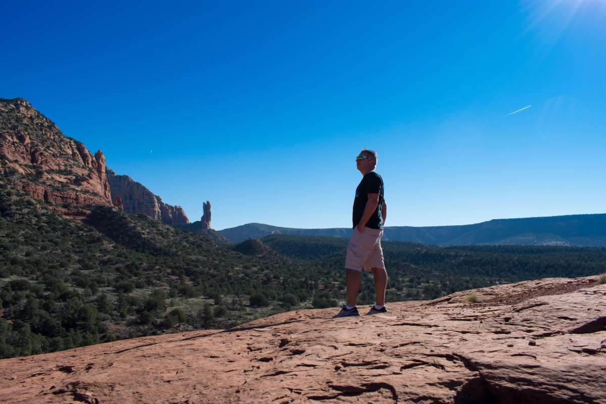 Sedona Courthouse Butte Trail Rusty Ward