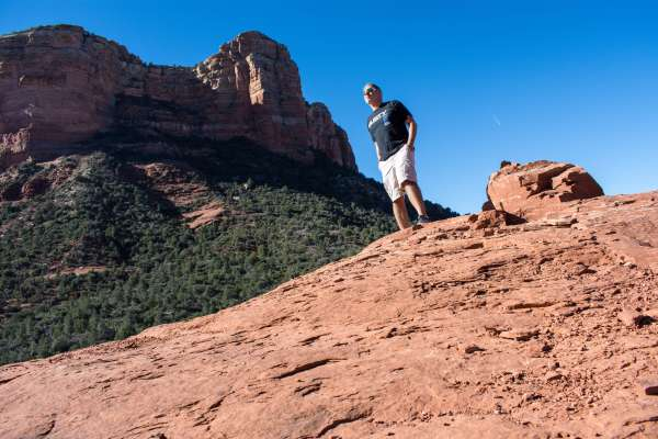 Hiking Sedona Arizona Rusty Ward