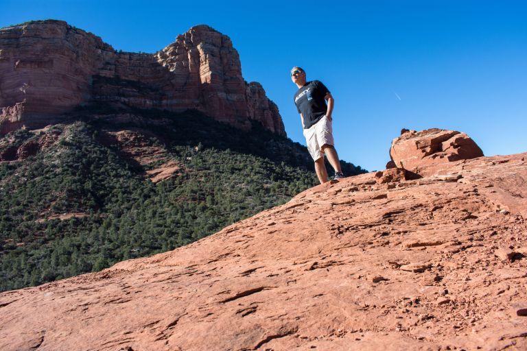 Hiking Sedona Arizona Rusty Ward
