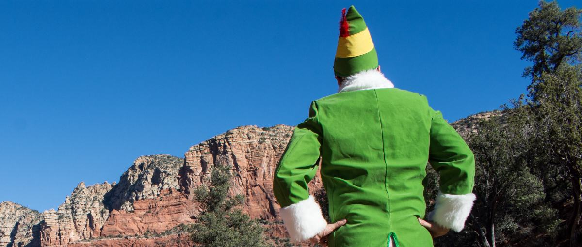 Sedona Elf Hiking Arizona Rusty Ward