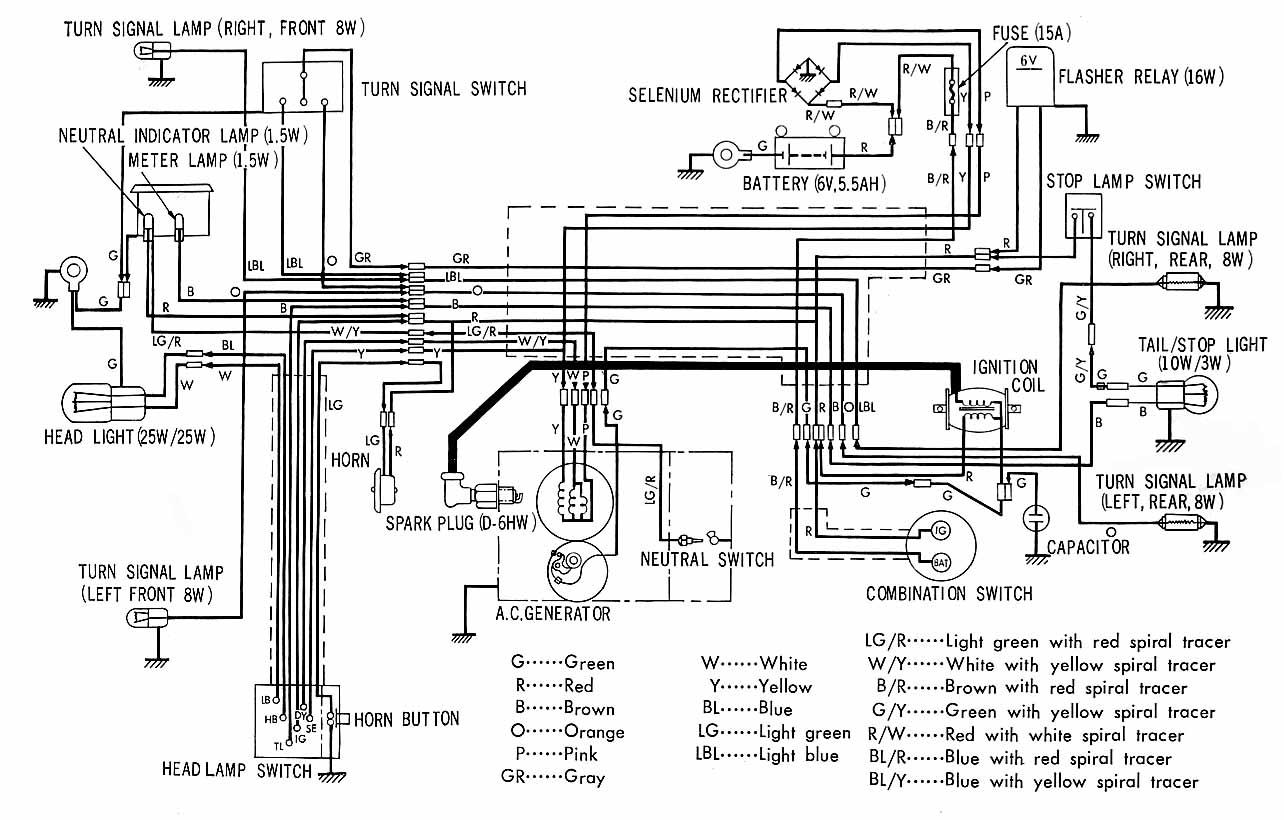 1969 Honda Z50 Wiring Diagram Diagrams Z50r Library Pocket Bike Harness