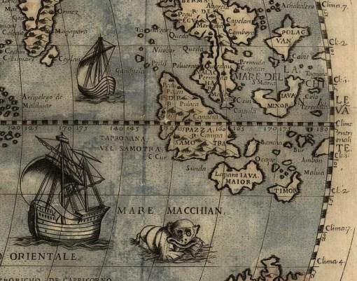 terra incognita world map 1565
