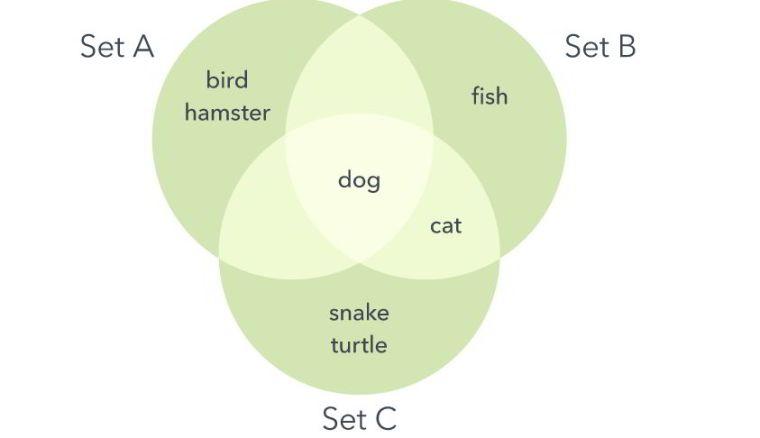 Contoh diagram Venn Lengkap