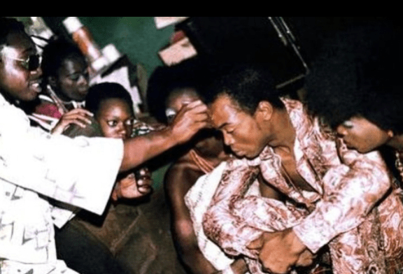 Fela Kuti marriage to 27 women