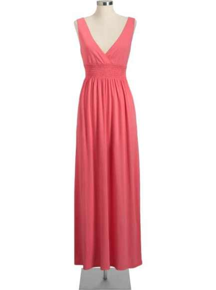 Old Navy Womens Jersey Cross-Front Maxi Dresses