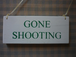 Gone shooting