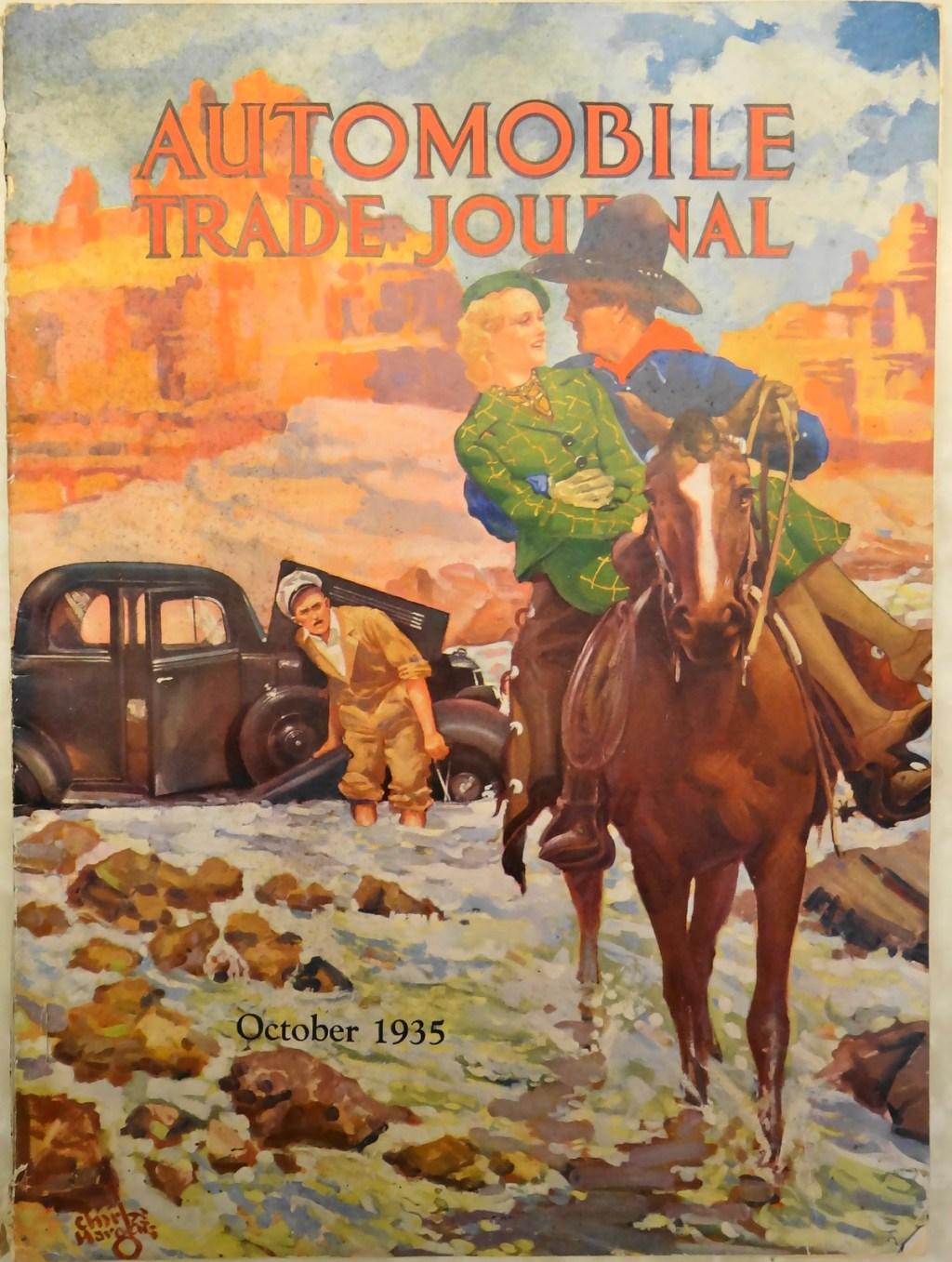 Auto trade cover Oct 1935 1