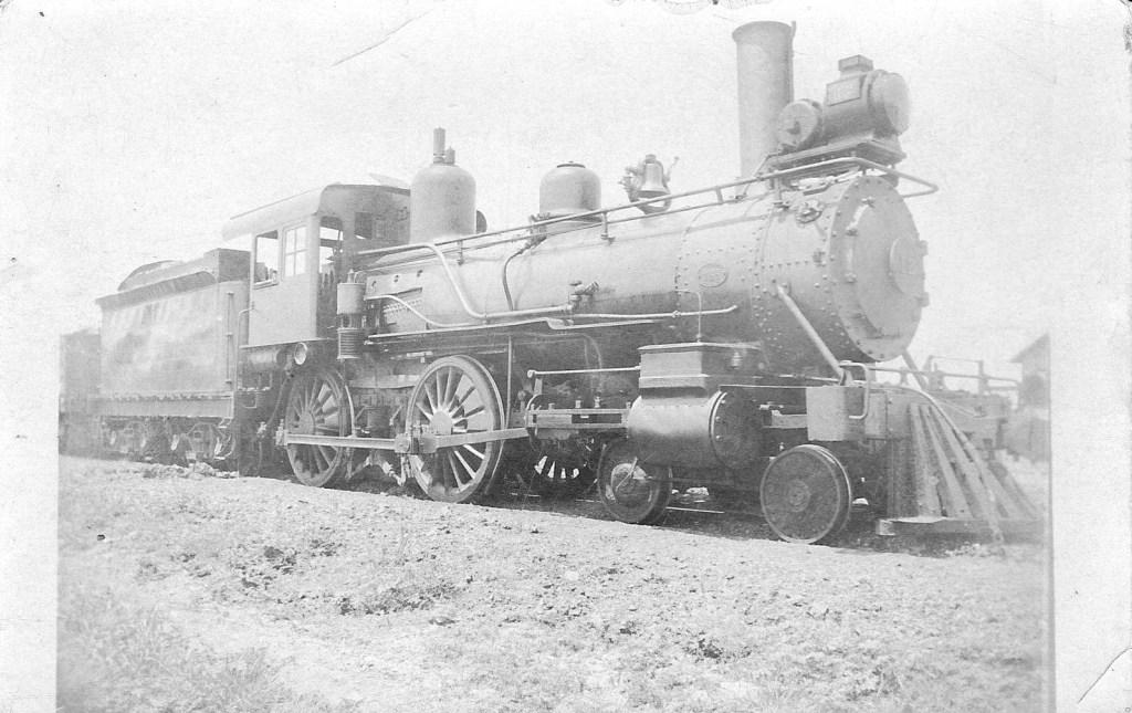 train grandpa curtis early 1900s