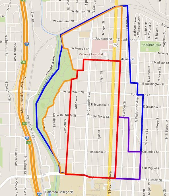 Neighborhood Map The Old North End Neighborhood