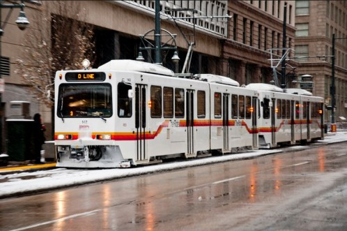 Light Rail in Denver