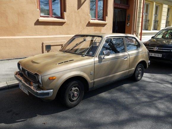 1977 Honda Civic Hondamatic first generation