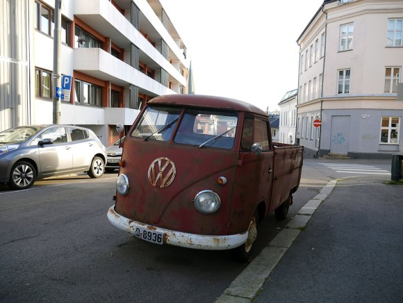 1963 Volkswagen VW Type 2 Transporter Single Cab pickup split-screen
