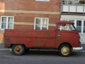 1963 Volkswagen VW Type 2 Transporter Single Cab pickup split-screen