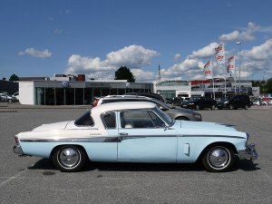 1955 Studebaker Commander starliner coupe raymond Loewy