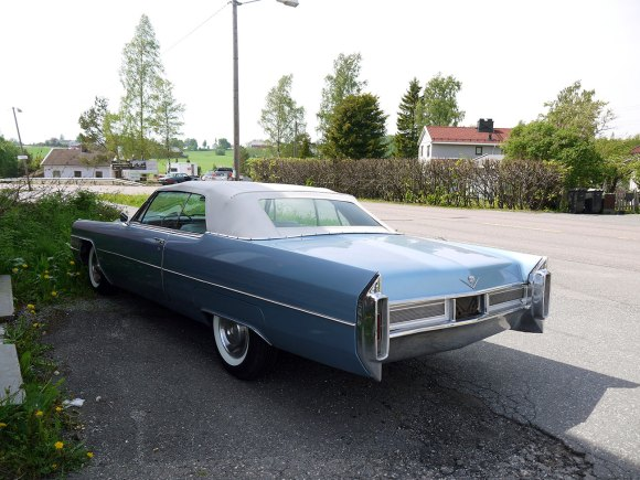 1965 Cadillac De Ville cabriolet