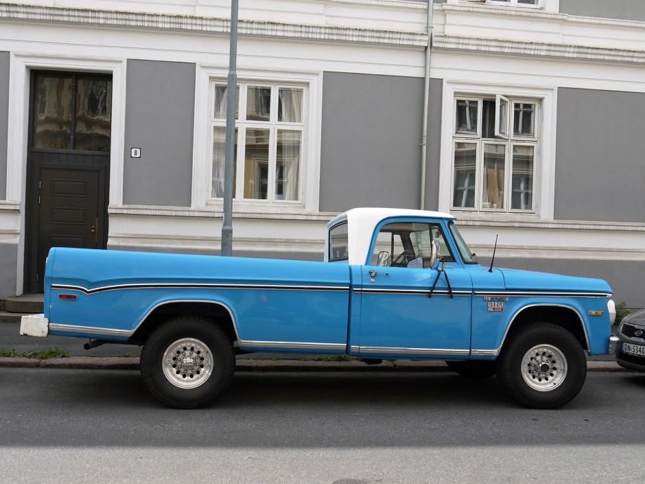 1970 Dodge Power Wagon W200 off road pickup oslo