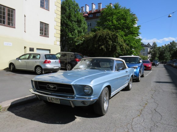 1967 Ford Mustang Cabriolet Oslo classic cars