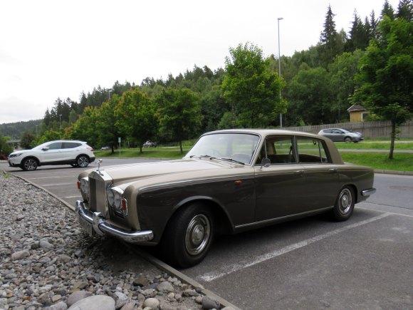 1969 Rolls-Royce Silver Shadow British luxury car Norway
