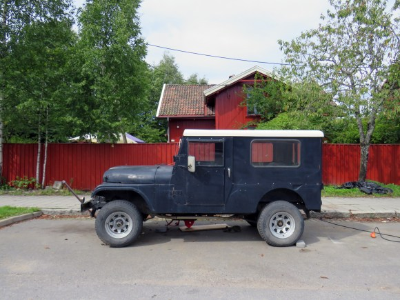 1957 Willys Jeep CJ-6 Overland 4x4 off road oslo norway