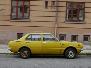 1976 TOYOTA COROLLA DELUXE