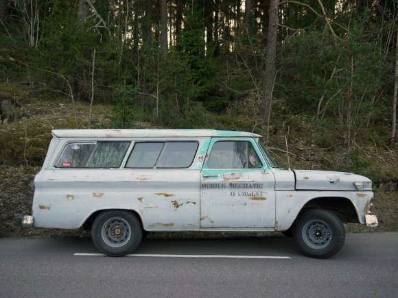 1966 GMC CARRYALL