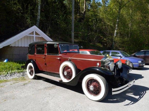 1928 Rolls-Royce Phantom I Sedanca de Ville (Brewster) Chassis S222FP