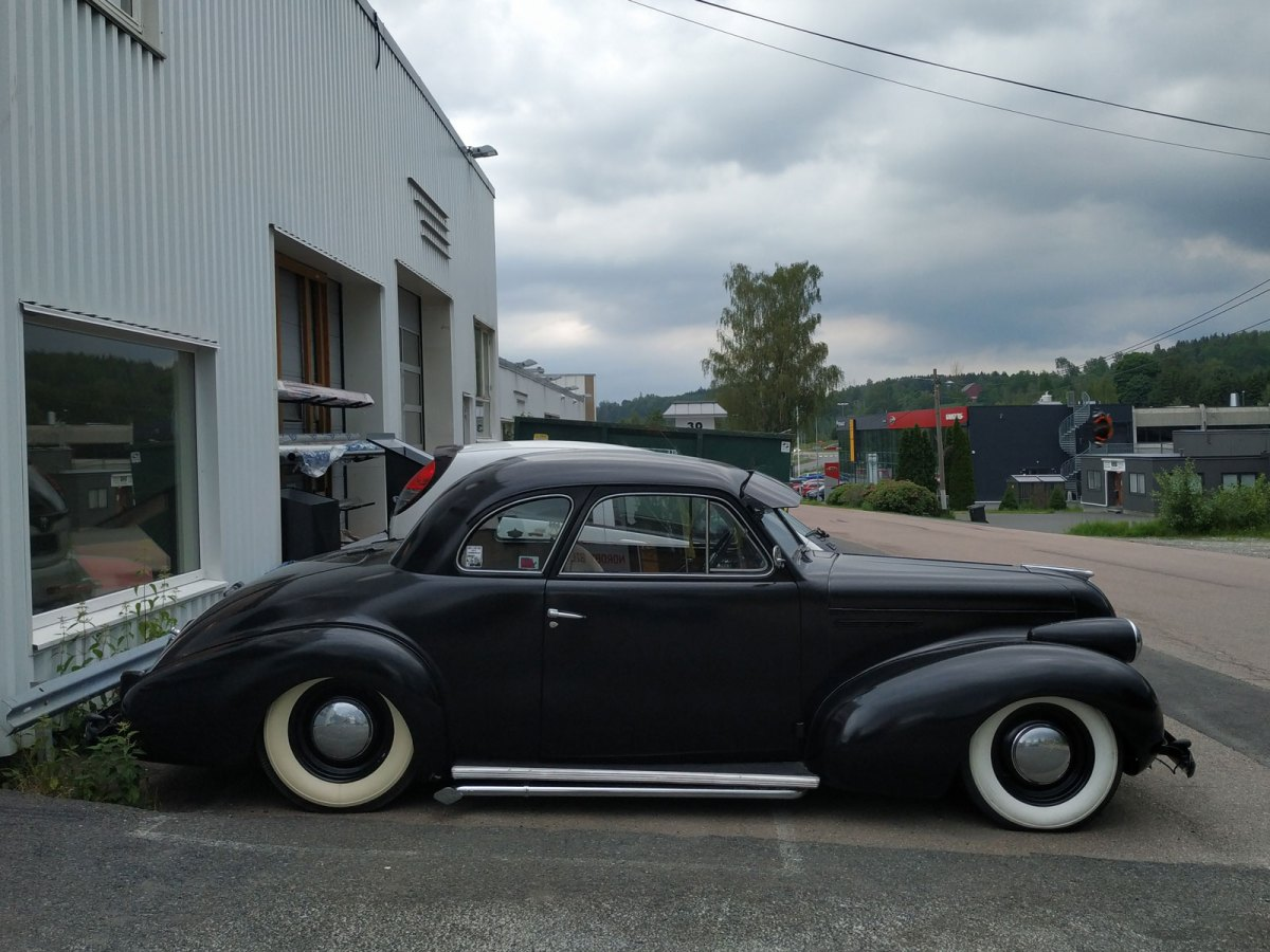 1939 Buick Special 46s Coupe
