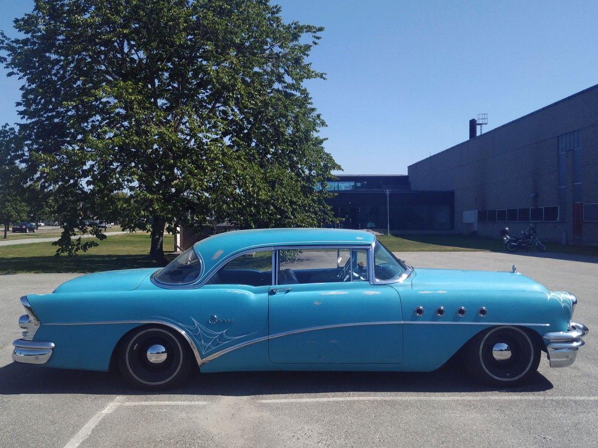1955 Buick Super coupe halden profile