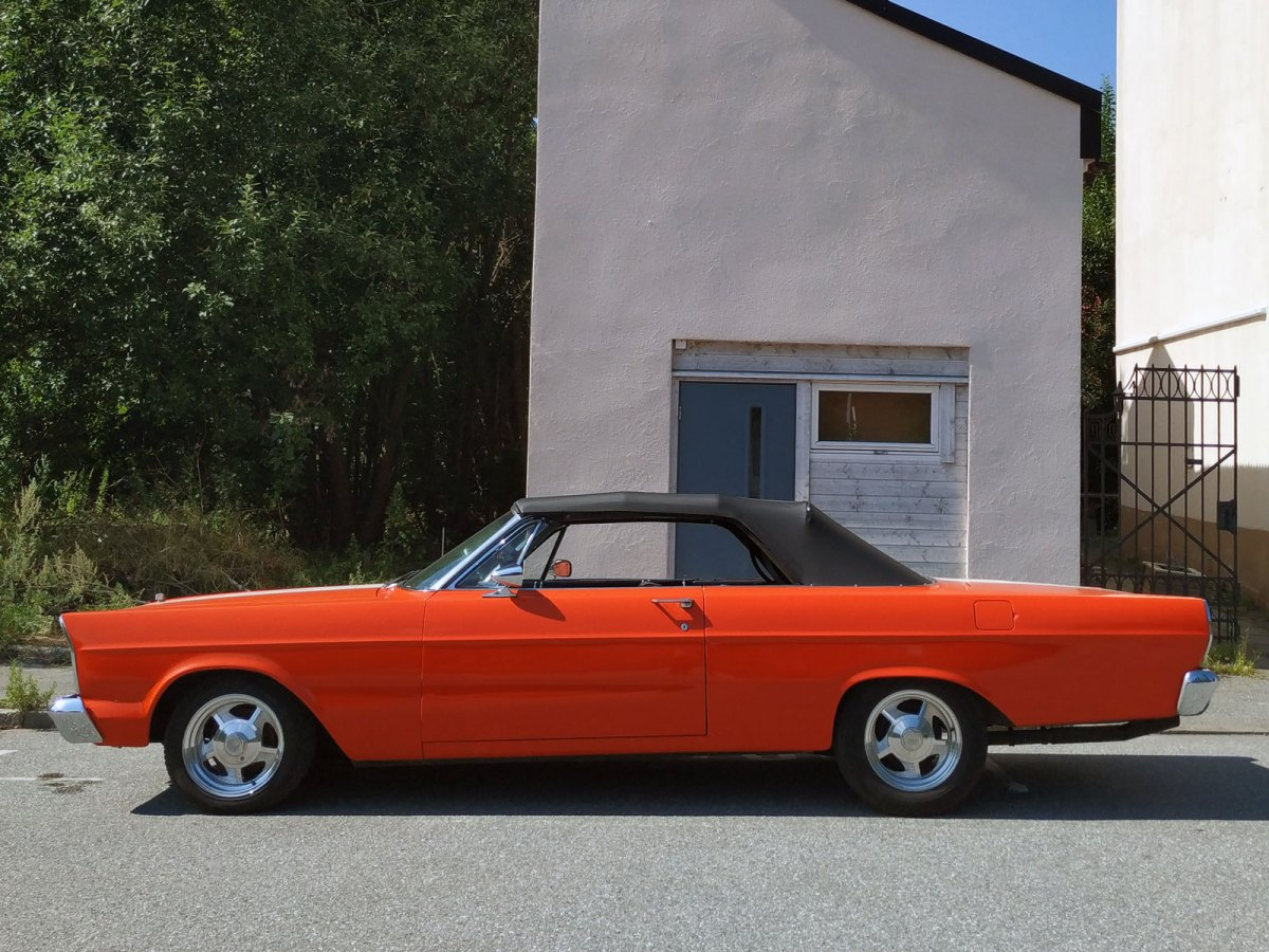 1965 Ford Galaxie classic car parked on the street thumbnail
