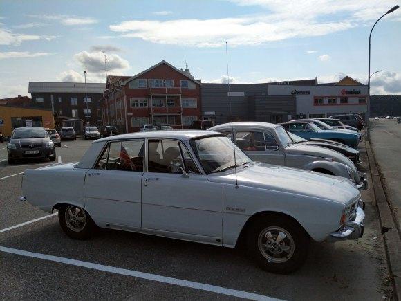 1971 Rover 3500 p6 v8 old halden
