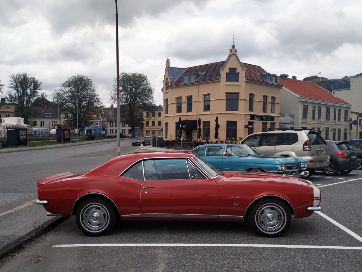 1967 Chevrolet Camaro RS/SS old parked cars thumbnail