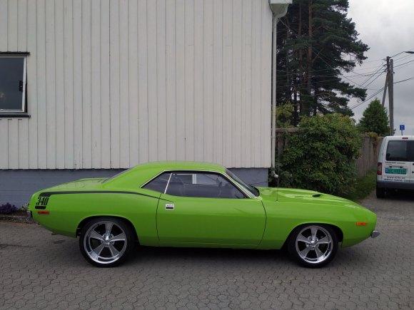 1972 Plymouth Barracuda 340 muscle car thumbnail