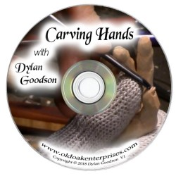 Label of Caving Hands with Dylan Goodson DVD