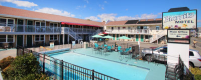 Our Main Building and Solar Heated Pool