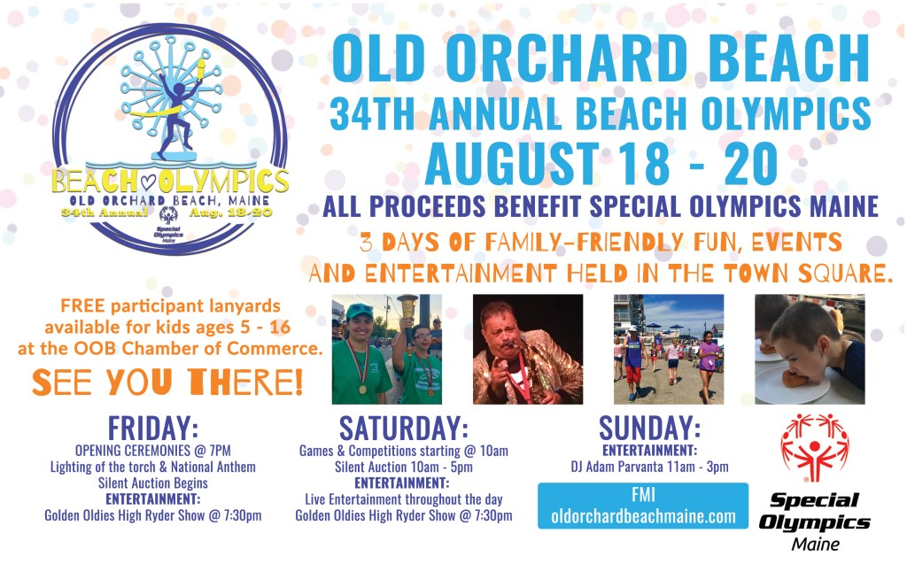 old orchard beach olympics special event