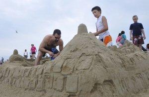 ocean park sand sculpture competition