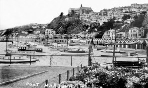 Boat Harbour with St Gerard's Church and Monastery (built 1932)
