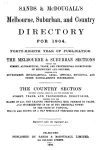Post Office Directory 1904
