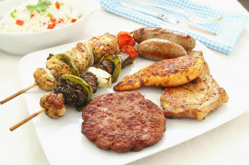 high protein diet barbeque