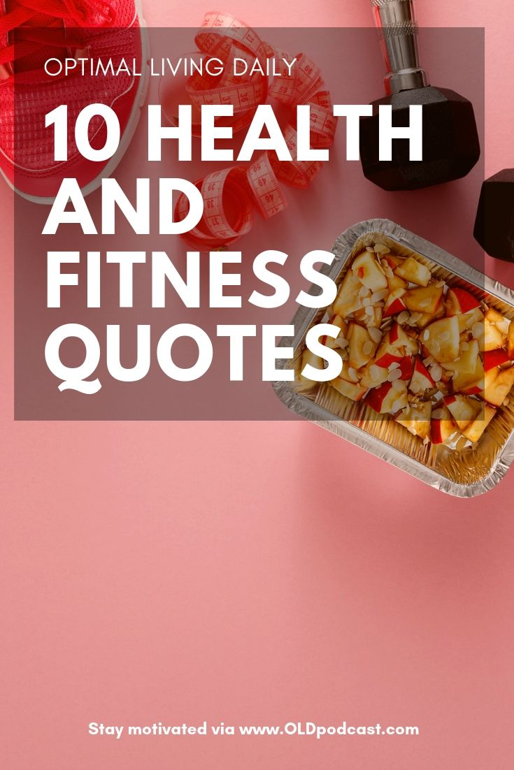 10 Health and Fitness Quotes to Stay Motivated - Optimal ...