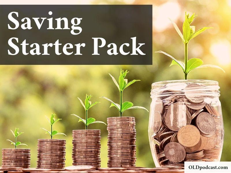 saving starter pack