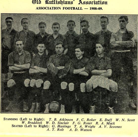 1908-09 1st XI